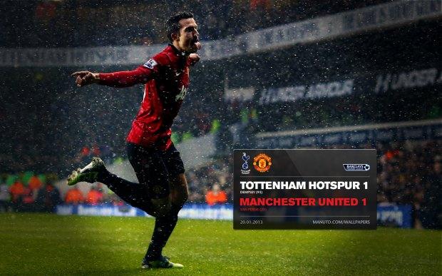 Tottenham Hotspur 1-1 Machester United